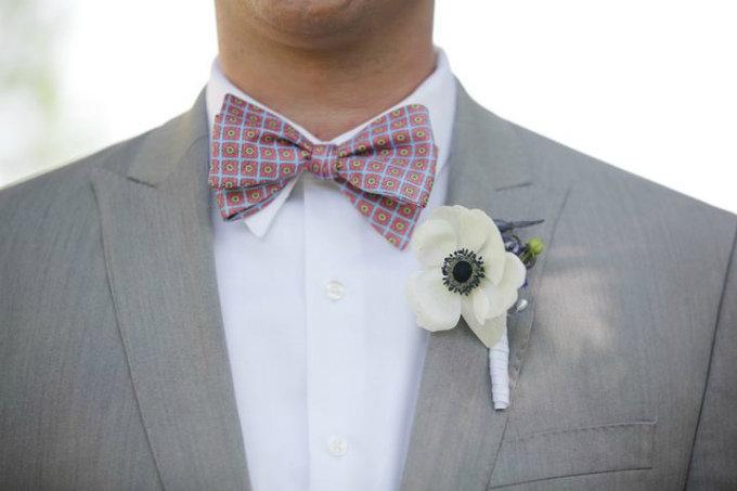 Галстук-бабочка – стильный аксессуар для жениха на свадьбе любого формата - Портал Мир свадьбы
