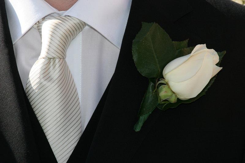 Галстук на свадьбу
