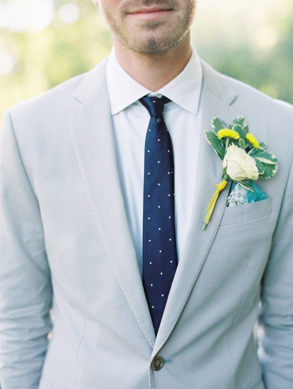 Как выбрать галстук для жениха?