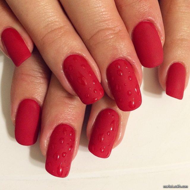 картинки ногти красные ногти