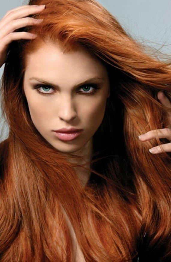 Макияж для рыжеволосых девушек. - Beauty Selective