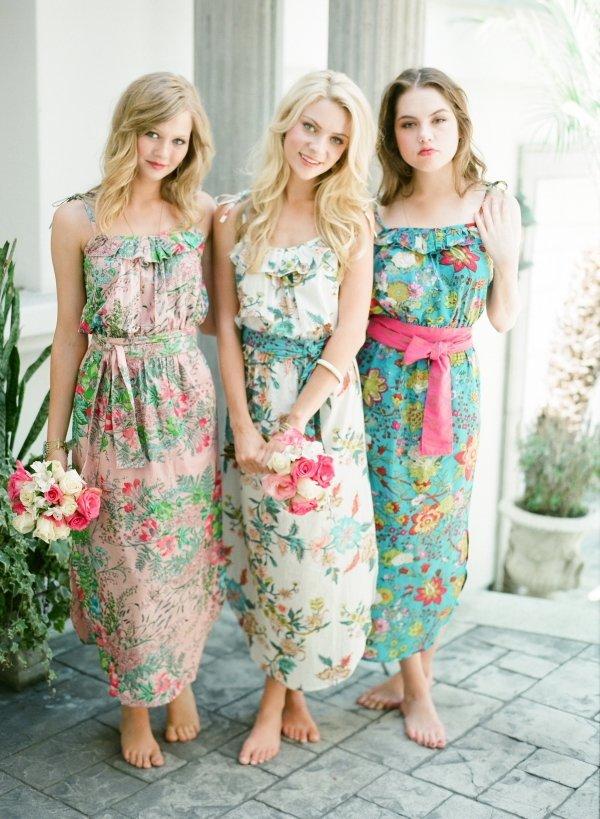Образ подружки невесты