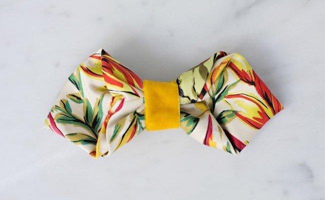 Плиссированный галстук-бабочка для стильного жениха | Love&Life