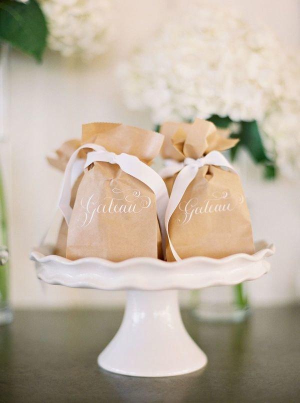 Подарки гостям: идеи и рекомендации - Weddywood