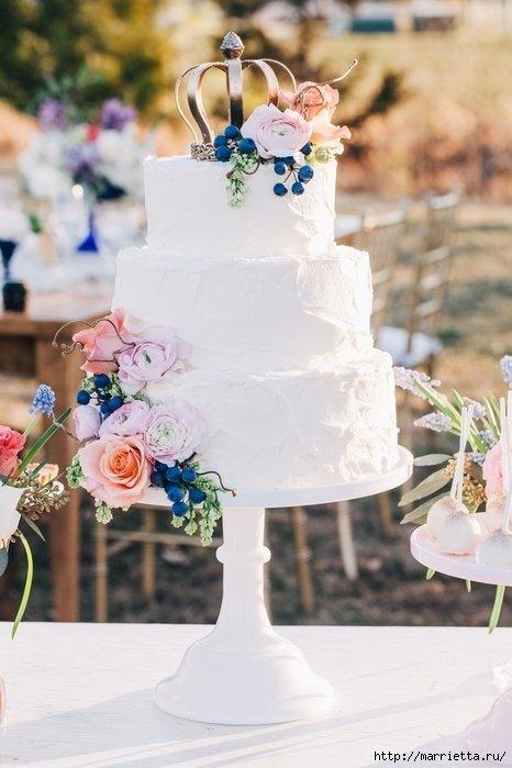 Самый красивый свадебный торт (72)