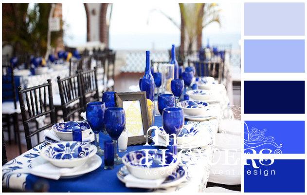 Свадьба в синем цвете (Blue Wedding). Советы флориста-декоратора по оформлению свадьбы