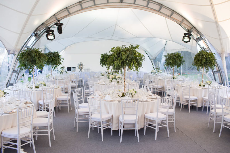 Свадебное торжество в усадьбе Кусково | Кейтеринг «Kalitniki»