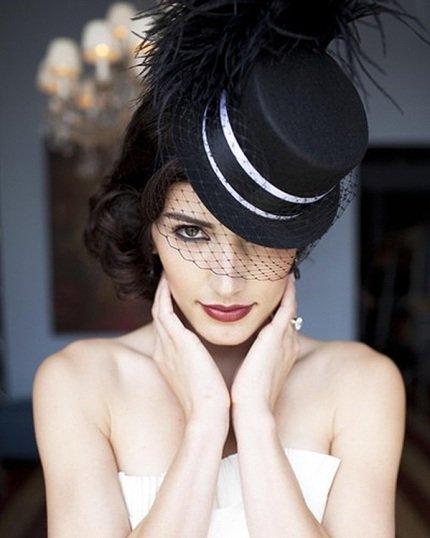 Свадебные шляпки