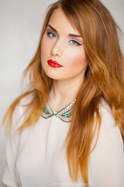 Свадебный макияж для рыжих - ГеоКрасота.ру. Раздел со статьями в свадебном журнале: Свадебный образ.