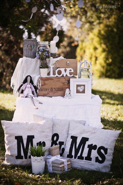 Toy story: Декор для свадебной фотосессии