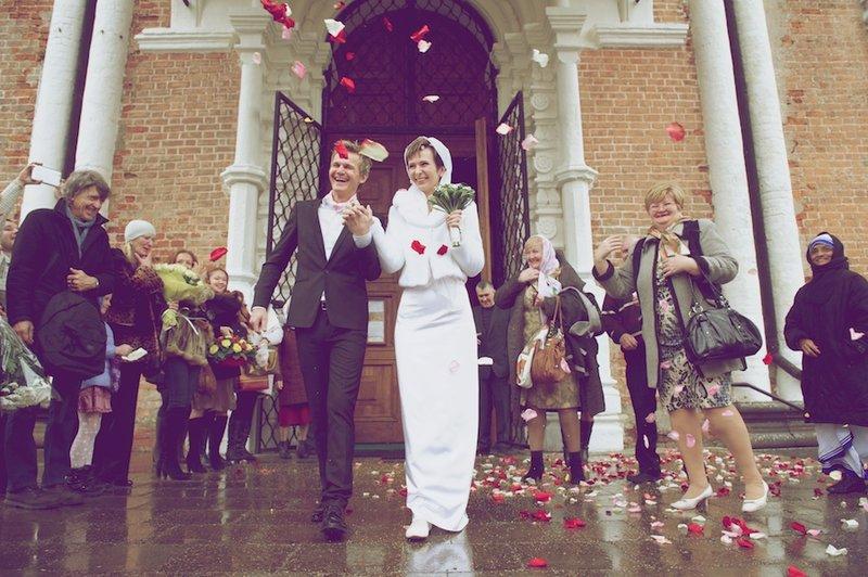 Венчание Андрея и Светланы Шабаевых-Маркиных 9 ноября 2011г.