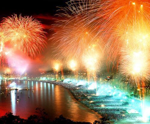 Изумительный Новый Год в Рио де Жанейро