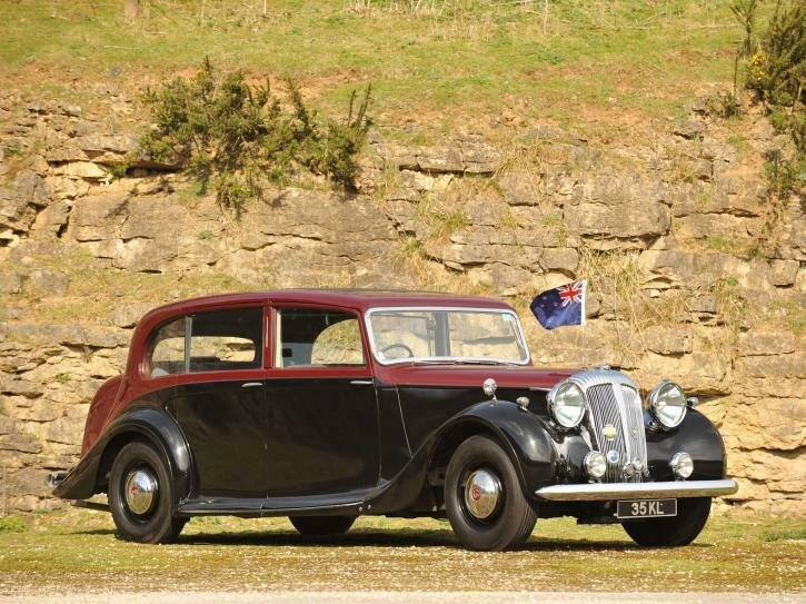 Daimler DH27 Limousine by Hooper