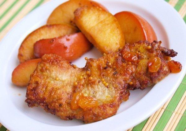 кулинарные рецепты с фото из свиные отбивные
