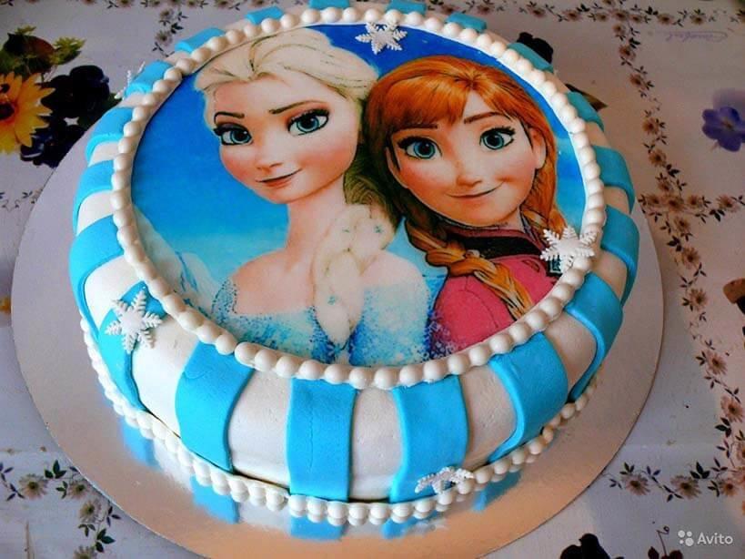 Украшение торта вафельной картинкой в домашних условиях