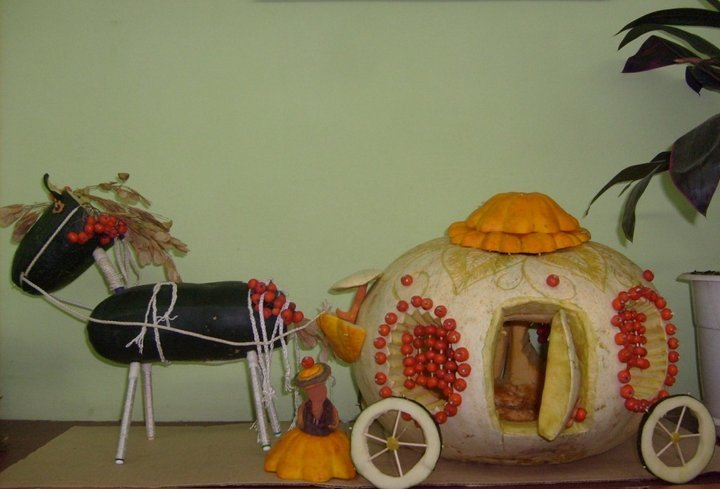 Золушка карета своими руками