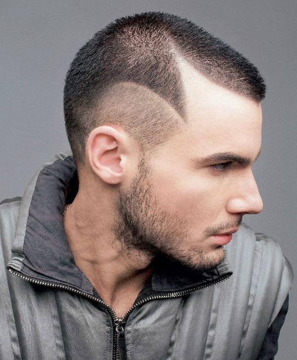 стрижка с узорами мужская фото