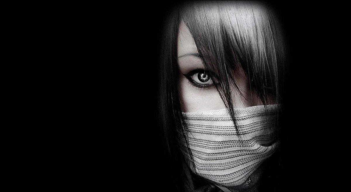 Крутые картинки на черном фоне для девушек
