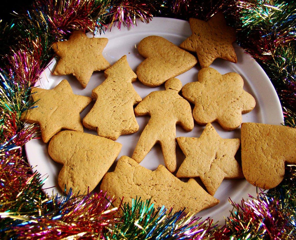 рождественское имбирное печенье рецепт с фото поболтаем
