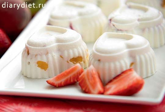десерты из творога и желатина