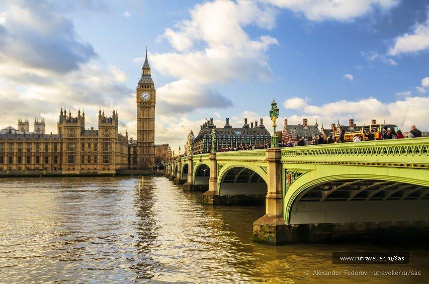 фото лондона достопримечательные места можно