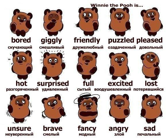 Эмоции на английском