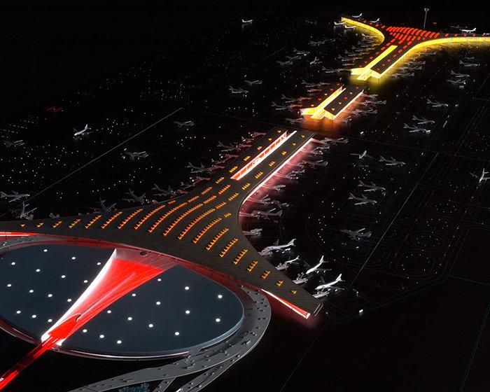 Новый терминал международного аэропорта Пекина