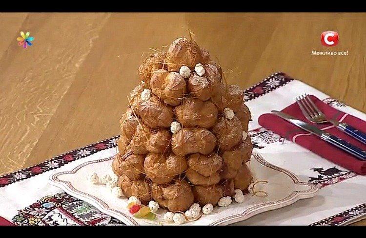 Торты рецепты с фото новогодняя горка