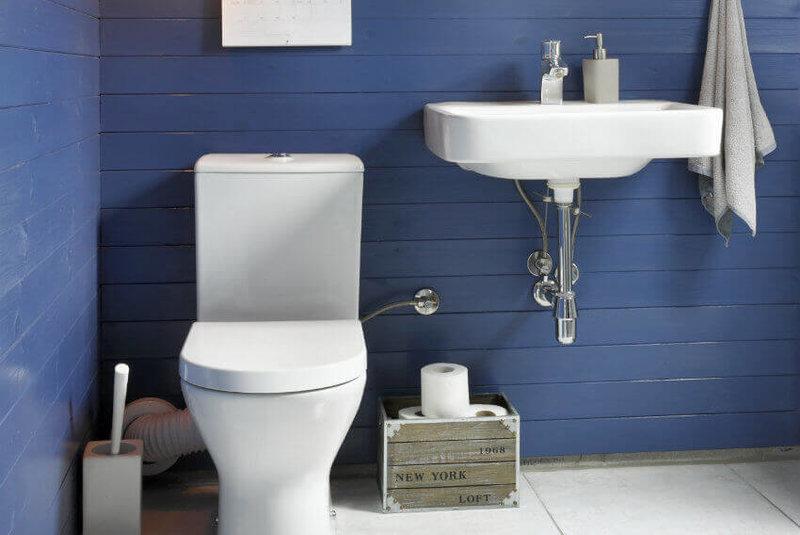 Фото — 5 Дизайн маленького компактного туалета