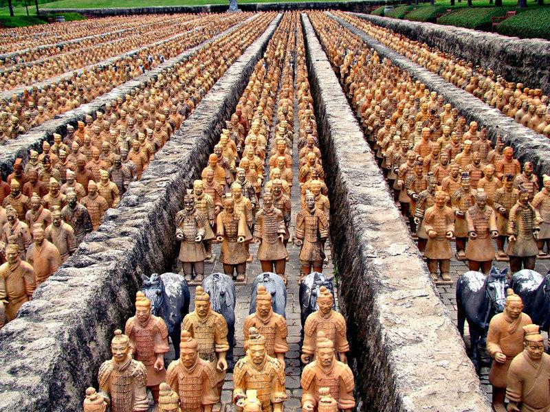 Три столицы Империи | ВОЯЖТУР земля территория загадок глиняная армия императора цинь 2015