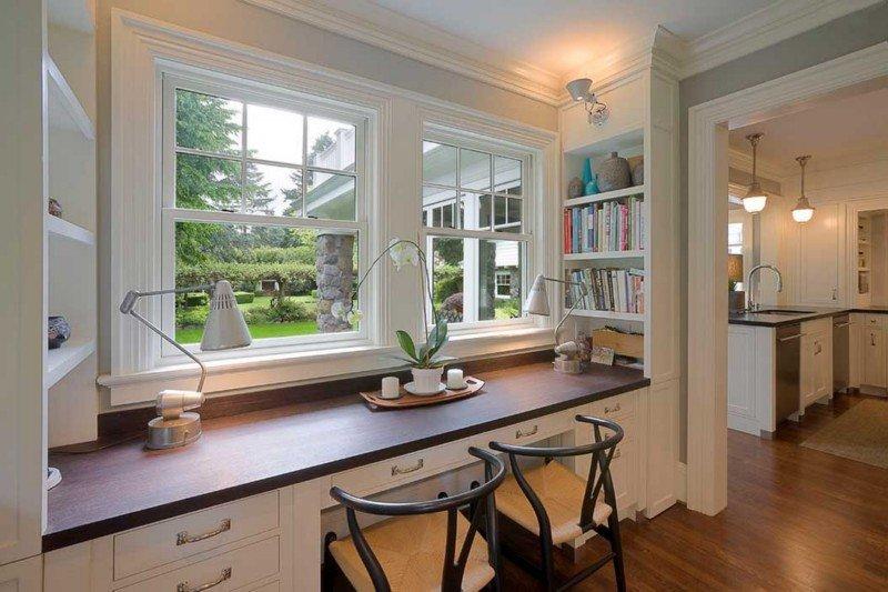 Дизайн домашнего кабинета для двоих