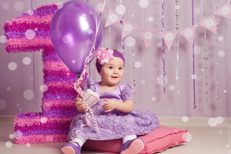 Фото день рождение 1 год