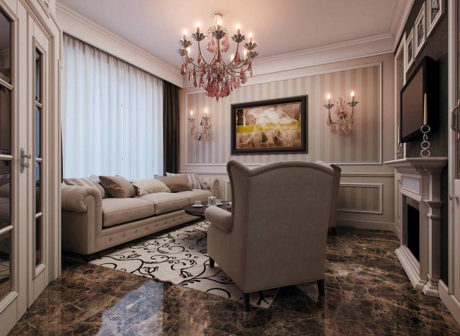 Главный классический интерьер квартиры в светлых тонах данные погоде Мусино