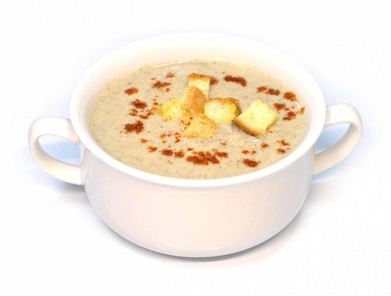 Сливочный суп-крем из грибов