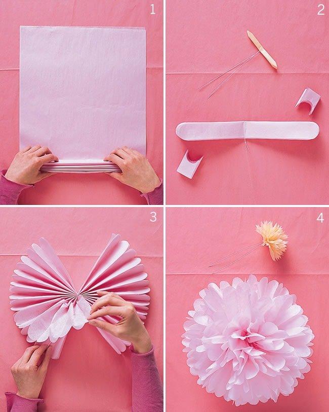 Украсить комнату своими руками поделки
