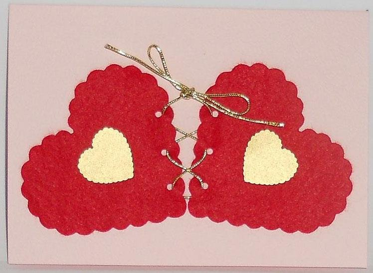 Надписью наш, открытки двойные сердечками