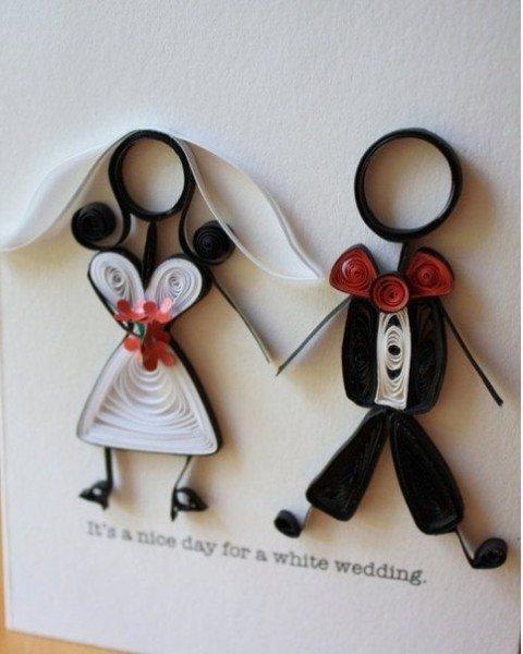 Поделки открытки с свадьбой, февраля