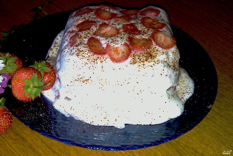 торт в микроволновке рецепт с фото пошагово