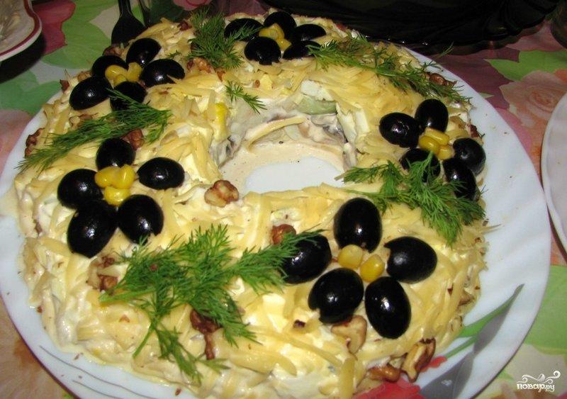 простые салаты пошаговые рецепты фото