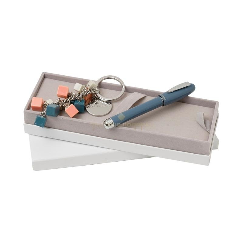 Набор (ручка роллер, брелок)