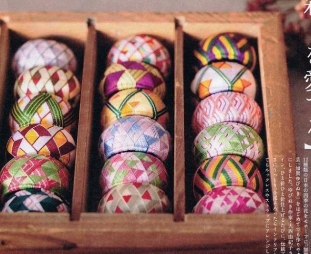 Традиционные напёрстки в Японии - это не привычные в нашем представлении 'шляпки', надевающиеся на кончик пальца, а кольца. Они называются юбинуки.