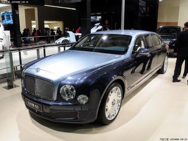 Бронированный шестиметровый Bentley Mulsanne Carat Duchatelet