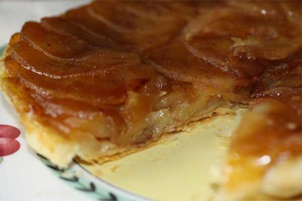 Яблочный пирог татен рецепт с фото
