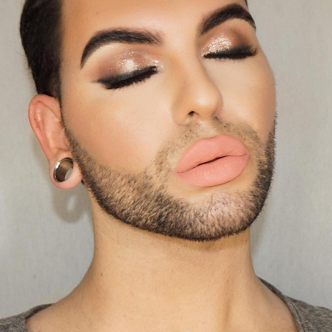 Мужчины с макияжем картинки