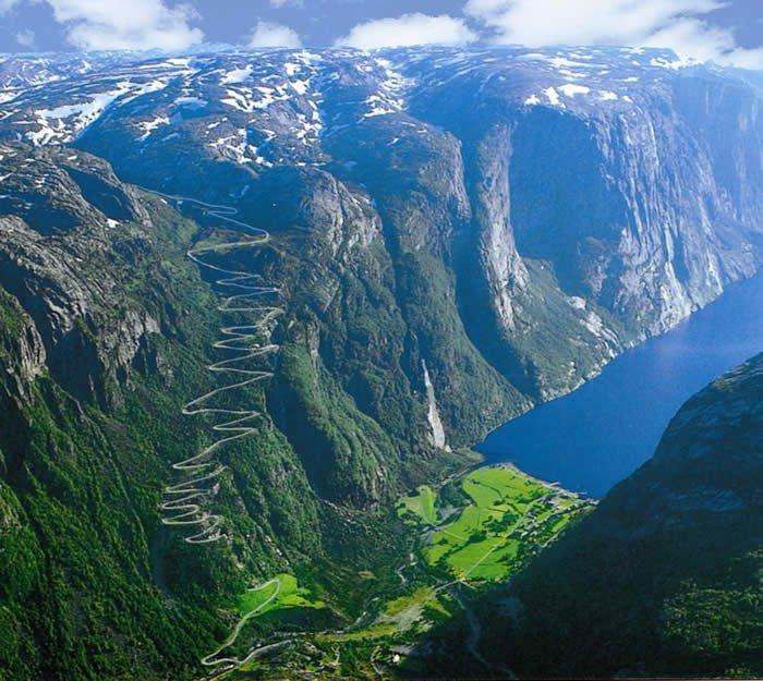 Я буду долго гнать велосипед... Норвегия.