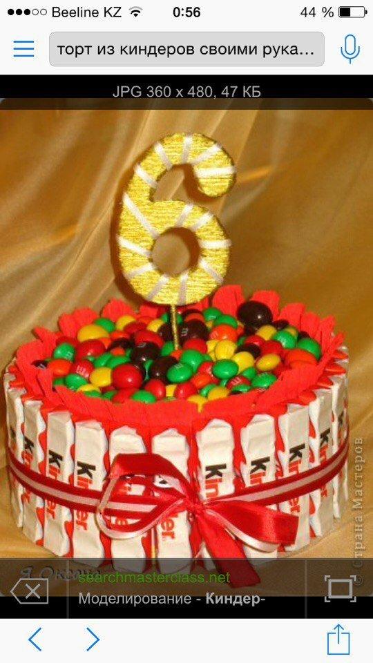 Торты на день рождения с фото пошагово