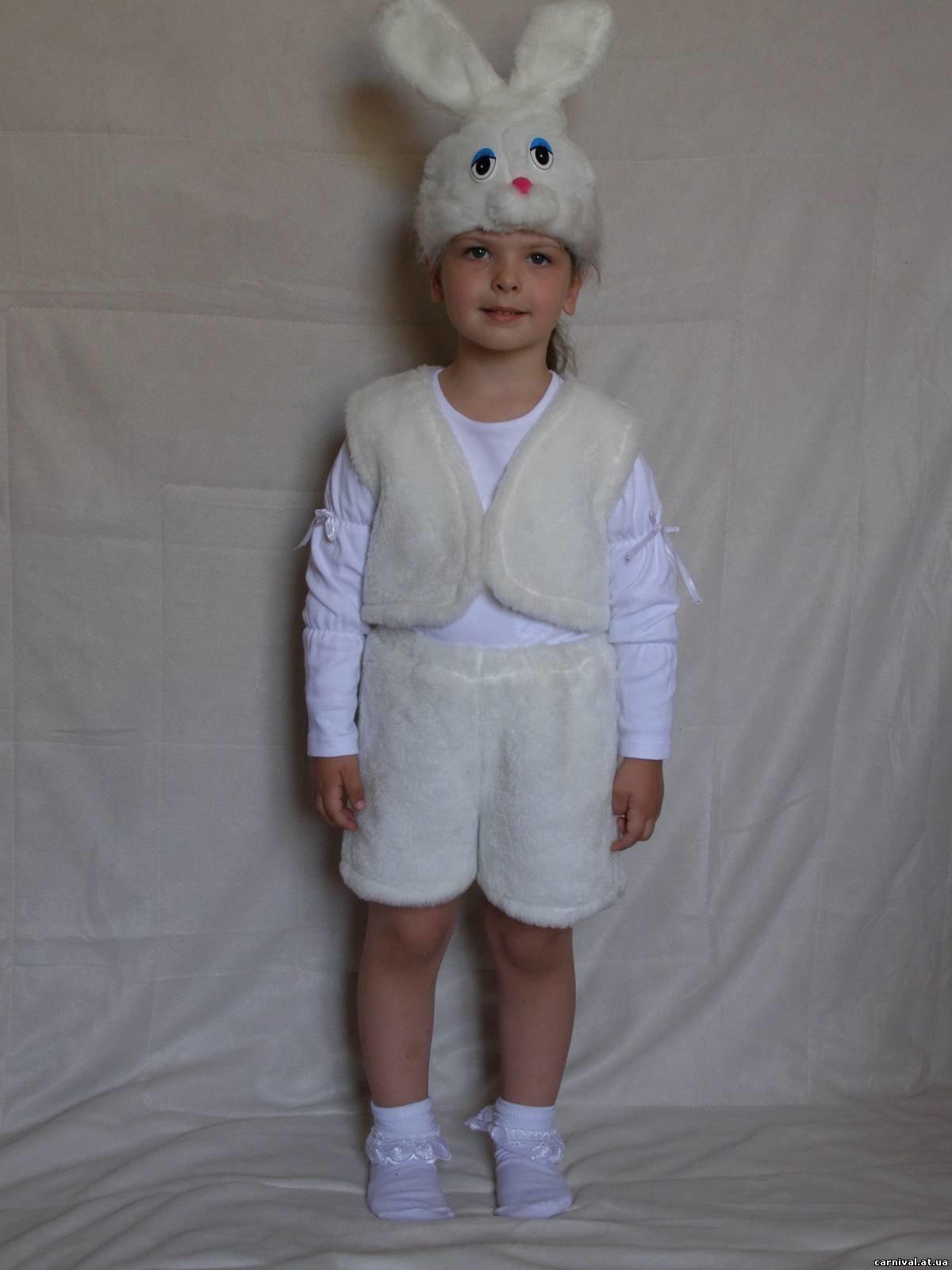 Карнавальный костюм зайчика своими руками фото 675