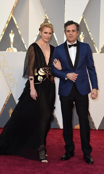 Марк Руффало Санрайз Койни на вручении Оскара 2016