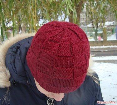 17 карточек в коллекции вязание спицами мужская шапка