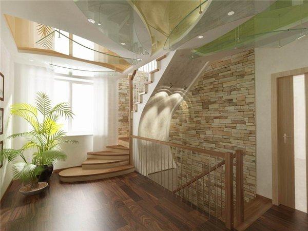 Лестницы в интерьере дома фото
